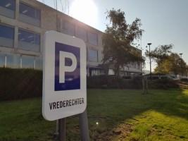 parkingbord gepersonaliseerd